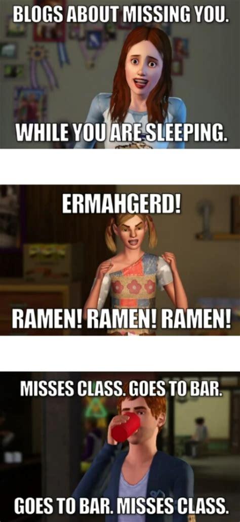 Sims Meme - sims 3 memes