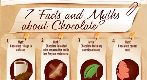 coco trivia facts and myths about chocolate infographic