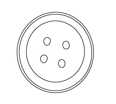 free coloring pages of buttons