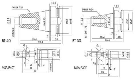 Arbor Bt30 C 20 arix cnc machines co ltd