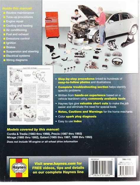 car repair manuals online free 1985 mitsubishi tredia auto manual mitsubishi cordia tredia precis mirage galant 1983 1993 workshop manual