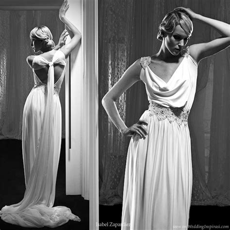 greek draped dress isabel zapardiez wedding dresses 2010 wedding inspirasi