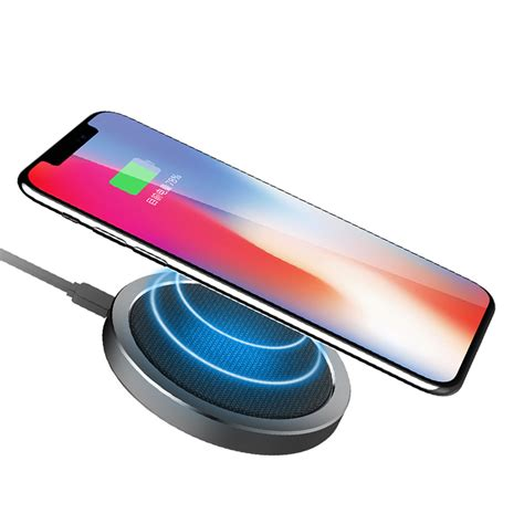 Charger Samsung 2a Fast Charging rock w4 2a qi wireless fast charging disk charger for iphone x 8 8plus samsung s8 s7 iwatch 3