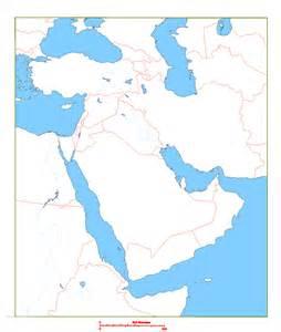 Arabian Peninsula Blank Map by Blank Map Of Arabian Peninsula