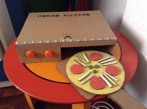 anafe de juguete horno pizzero con cajas de cart 243 n juguetes de cart 243 n