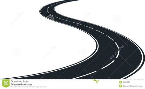 royalty free rf road clipart illustrations vector curve clipart windy road pencil and in color curve