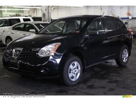 black nissan rogue 2009 nissan rogue s awd in wicked black 445966