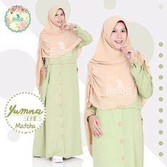 Gamis Shafira Kancing 1 fenuza muslim wear outer fanta baju gamis wanita busana muslim untukmu yg cantik syari dan