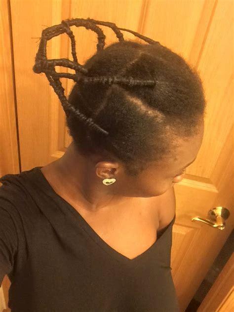 thread hair igbo style african threading