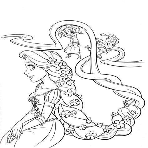 imagenes para colorear de xv años 15 dibujos rapunzel para colorear e imprimir