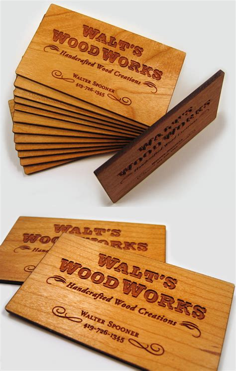 woodworking business cards   important