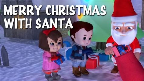 merry christmas  lyrics christmas carols   tiny tots youtube