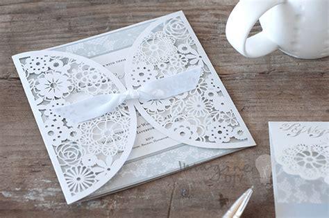 how to make beautiful diy laser cut wedding stationery imagine diy