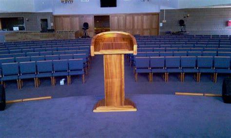 hand  koa church pulpit   tooth designs llc