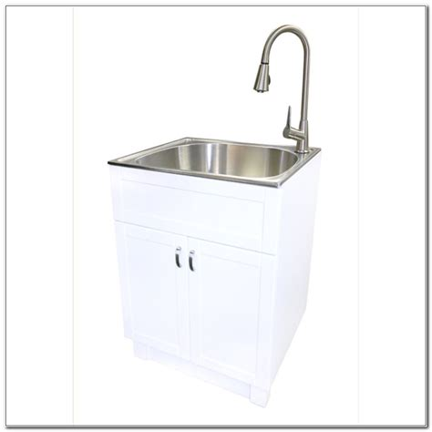 utility tub with cabinet laundry utility tub with cabinet cabinet home design ideas b69al0vvrl