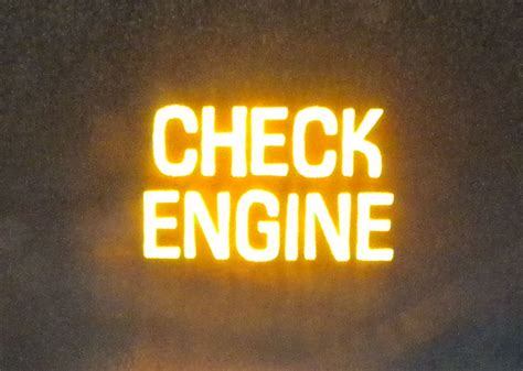 check engine light why is my check engine light on