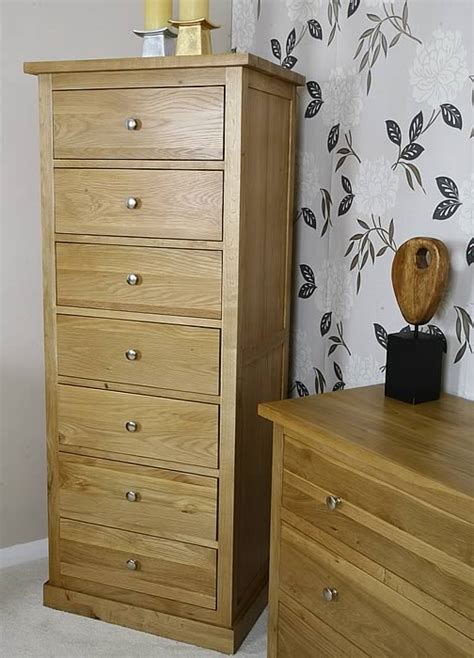 tall drawers bedroom 50 off glenmore oak tall 7 drawer bedroom chest of drawers