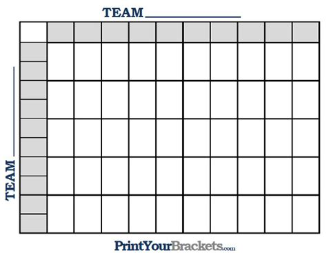 free football square template nfl print 50 square football grid