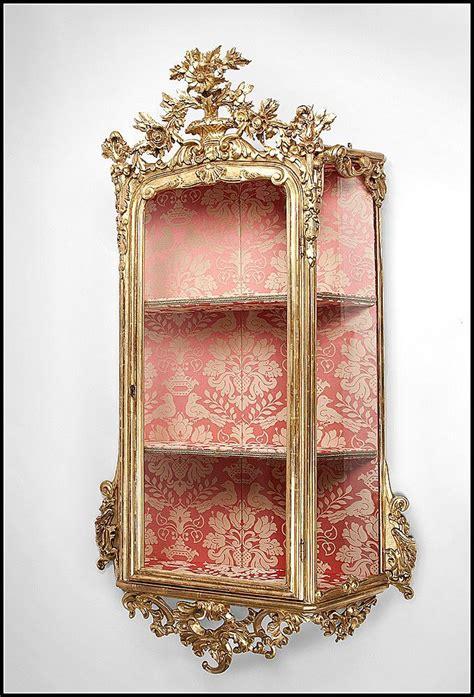 wall curio cabinet shadow box 18th century venetian curio cabinet you could recreate