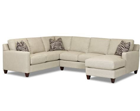 track sectionals klaussner fuller contemporary stationary sectional with