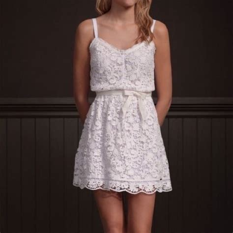 Lace Dress Hollister hollister beautiful white lace dress from marion s