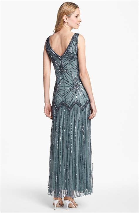 pisarro nights beaded drop waist dress pisarro nights beaded drop waist dress sz 4 ebay