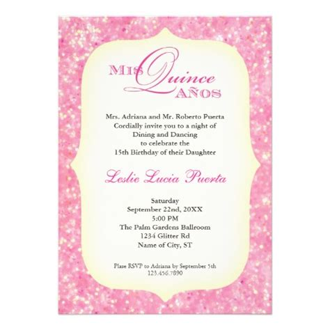 invitations for a quinceanera templates quinceanera invitation wording spanish invitation