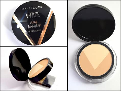 Maybelline V Powder maybelline v duo powder review swatches