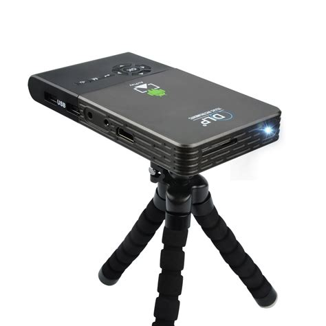 Proyektor Mini Wifi mini portable wifi bluetooth projector