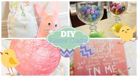 homemade easter decorations for the home diy easter crafts decor courtney lundquist youtube