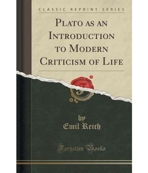 introduction to the science of sociology classic reprint books plato as an introduction to modern criticism of