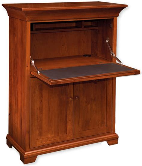 Drop Front Desks by Findlay Drop Front Desk Ohio Hardwood Furniture