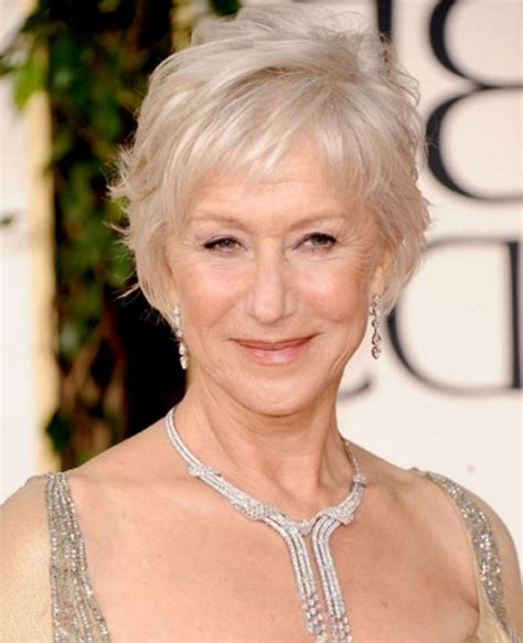 short hairstyles for gray haired women over 60 good bob hairstyles with layers for short wavy thick hair