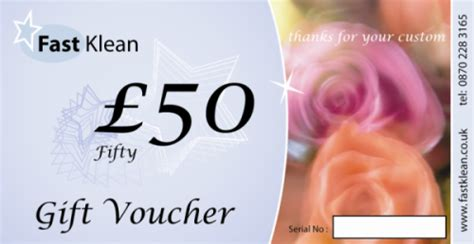printable gift vouchers london gift vaucher from fastklean the best cleaning company in