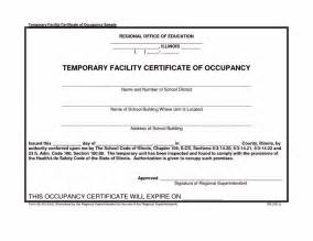 certificate of occupancy template certificate of occupancy template certificate234