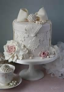 fondant cake decorating lace hatbox wedding cake with