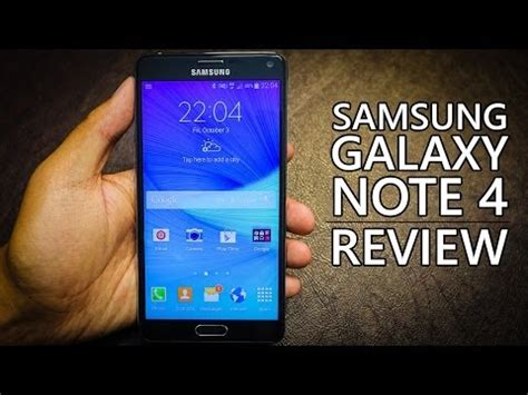 Samsung Galaxy Note 4 Review Samsung Galaxy Note 4 Review