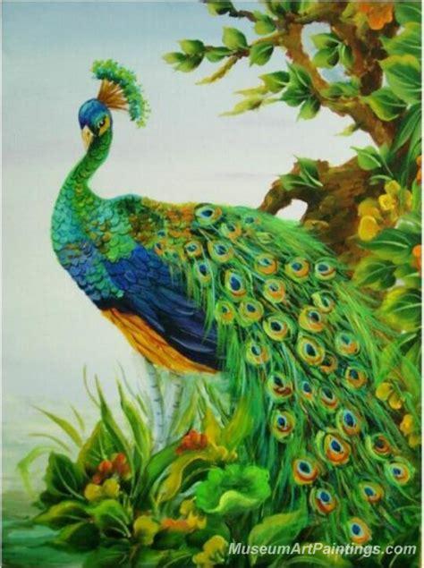 Painting 200x80cm 2 Peacock peacock paintings pmp035