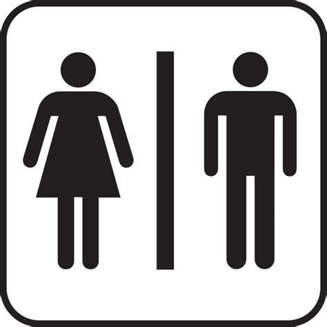 bathroom stall signs symbols we see on public bathroom doors as symbols for