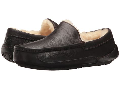 uggs slippers for ugg ascot leather at zappos