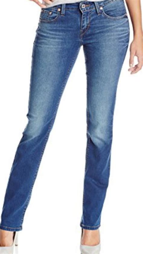 Everyones Looking For The Jean Length by Levi S 529 Curvy Mid Rise S Stretch