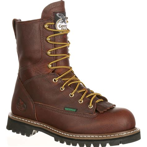 lace to toe boots steel toe waterproof lace to toe work boot by