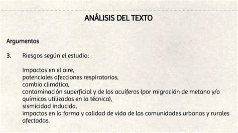 libro analisis de textos en lecci 243 n 131 analisis del texto argumentativo youtube