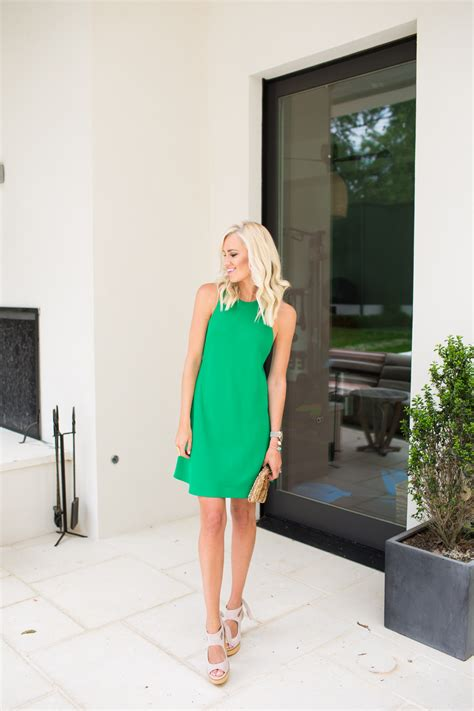 Kelly Green Sundress   Mckenna Bleu