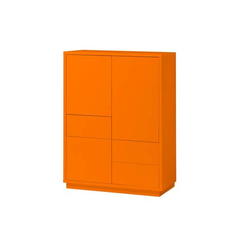 Kommode Orange by Kommode Orange Highboard Anrichte Sideboard Schrank 3