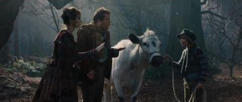 emily blunt rick and morty new into the woods clip released emily blunt buys a cow