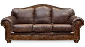 vintage bone chaparral leather sofa gallery