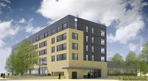 Northwest Side Housing Center by Five Story Mixed Use Building For Capitol Drive