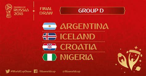 Gruppe D Wm 2018 Wm 2018 Gruppe D Mit Argentinien