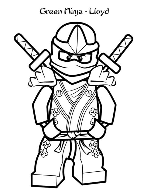 page lego ninjago coloring pages